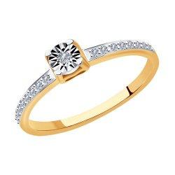 Inel de logodnă din aur SOKOLOV art 1012010 1